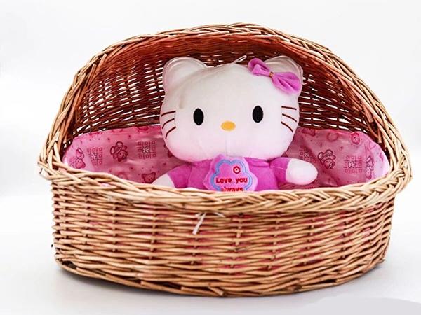 Pet basket wholesale